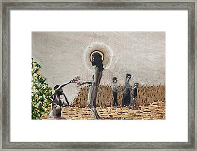 The Lepers Framed Print by Seth Angle