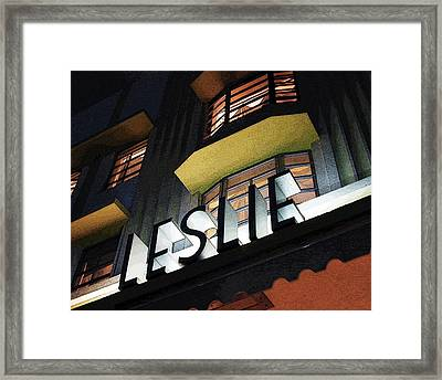 The Leslie Framed Print