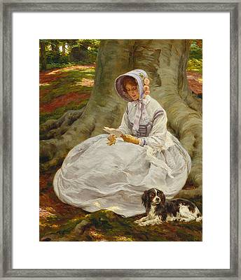 The Letter Framed Print by Frank Dadd