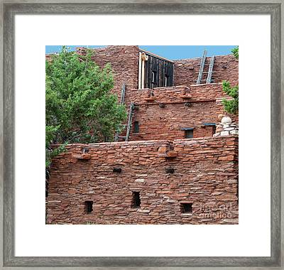 The Levels Of The Hopi House Framed Print