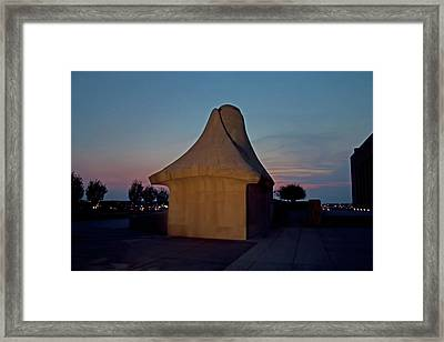 The Liberty Memorial Sphinx Framed Print