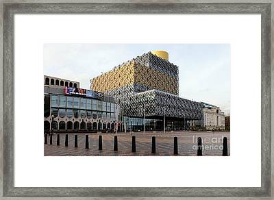 The Library Of Birmingham 2 Framed Print by John Chatterley