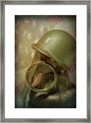The Lieutenant Framed Print by Tom Mc Nemar
