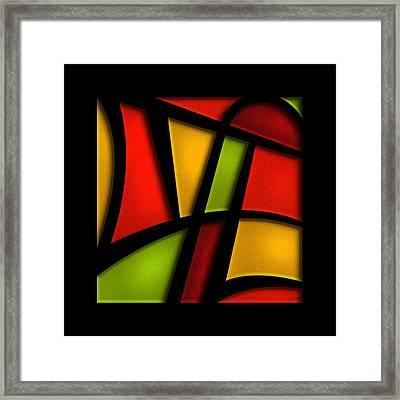 The Life - Abstract Framed Print