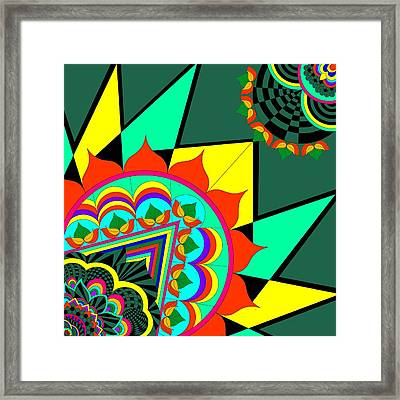 The Life In Colors-i Framed Print