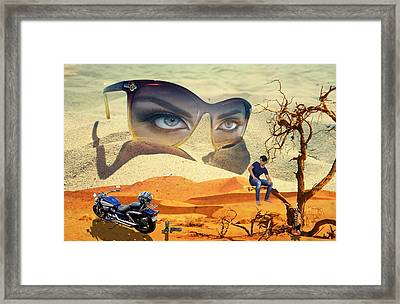 The Life Of A Man Framed Print