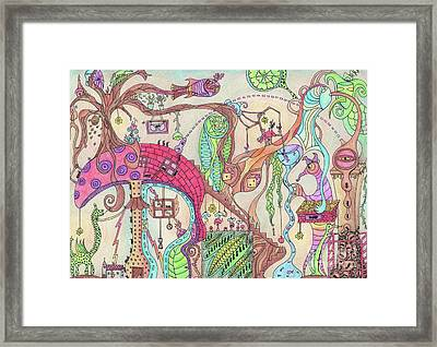 The Life Of Ants Framed Print