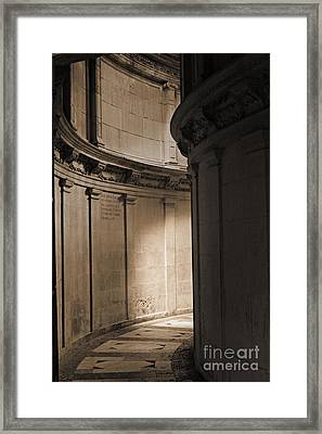 The Light At The End Of The Tunnel... Framed Print by Cendrine Marrouat