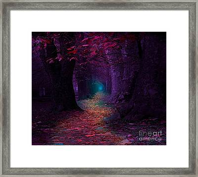 The Light At The End Framed Print by Rod Jellison