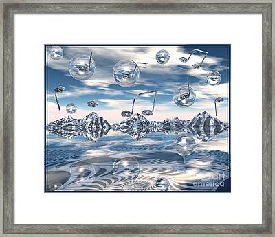 The Light Bender Cantata Framed Print by Michelle H