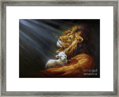 Isaiah - The Light Framed Print