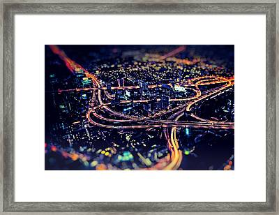 The Light Curves Framed Print