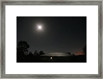 The Light Has Come Framed Print