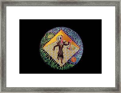 The Light Himself Framed Print