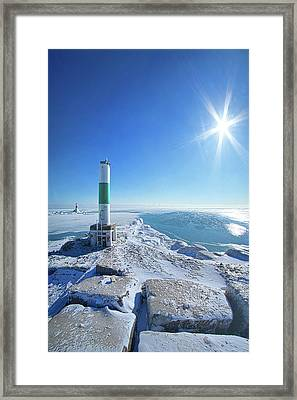 Framed Print featuring the photograph The Light Keepers by Phil Koch