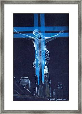 The Light Framed Print by Norman F Jackson