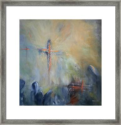 The Light Of Christ Framed Print