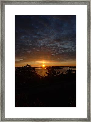 The Light Of Clouds Framed Print by Clay Peters Photography