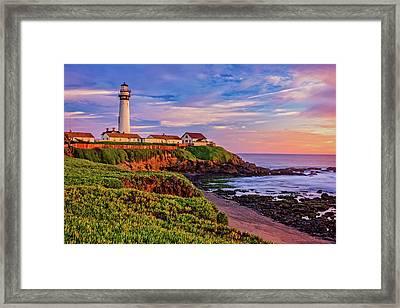 The Light Of Sunset Framed Print