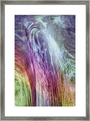 The Light Of The Spirit Framed Print by Linda Sannuti