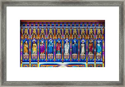 The Light Of The Spirit Westminster Abbey Framed Print by Tim Gainey