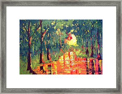 The Light Framed Print by Paul Sandilands