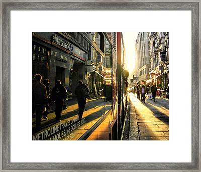 The Light Poured In..... Framed Print by Russell Styles
