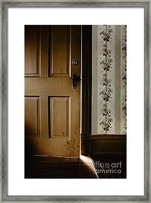 The Light Shone In Framed Print