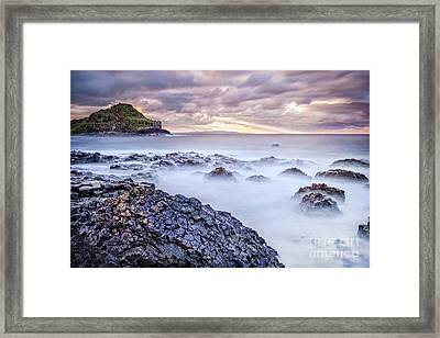 The Light That Brought The Darkness Framed Print