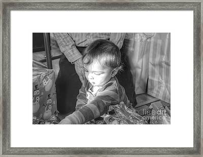 The Light That Shines Framed Print