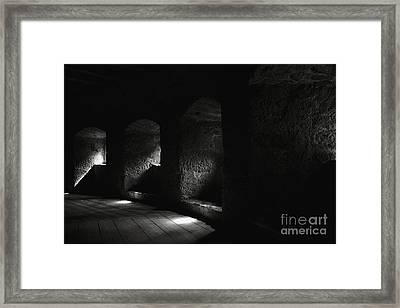 The Light Through Time Framed Print by Hideaki Sakurai