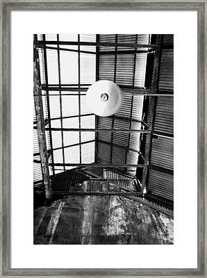 The Light Framed Print by Tom Melo