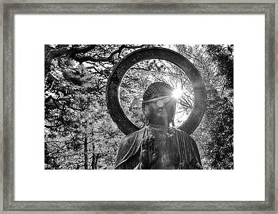 Framed Print featuring the photograph The Light Within And Without by Lora Lee Chapman