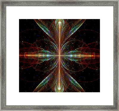 The Light Within Framed Print by Lea Wiggins