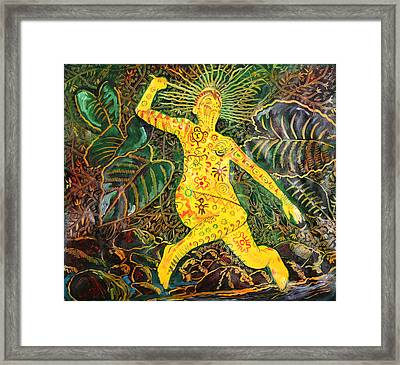 The Light Within Framed Print by Oscar Luis Martinez