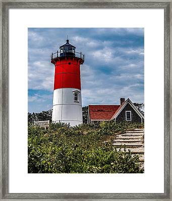 Framed Print featuring the photograph The Lighthouse by Kendall McKernon