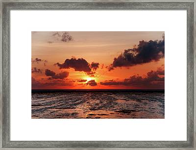 Framed Print featuring the photograph The Limitless Loving Devotion by Jenny Rainbow