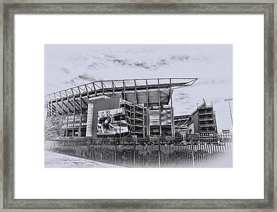 The Linc - Philadelphia Eagles Framed Print by Bill Cannon