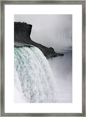 Framed Print featuring the photograph The Liquid Curtain by Dana DiPasquale