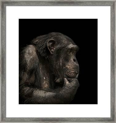The Listener Framed Print by Paul Neville