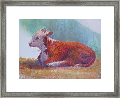 The Listener Framed Print by Susan Williamson