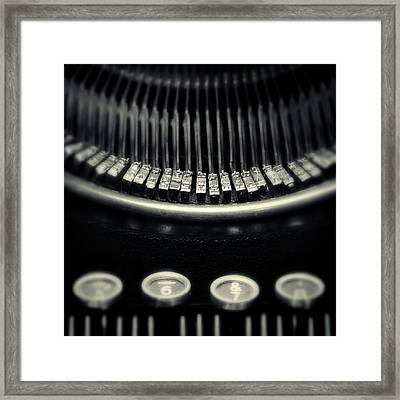 Framed Print featuring the photograph The Literate Piano by Richard George