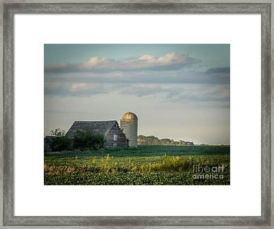 The Little Barn Framed Print