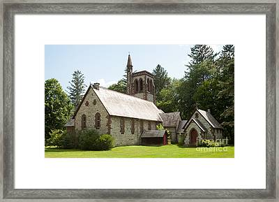 The Little Brown Church In The Vale Framed Print