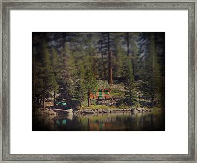 The Little Cabin Framed Print