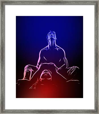 The Little Death Framed Print by Steve K