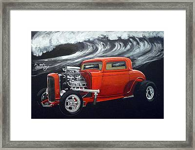 The Little Deuce Coupe Framed Print