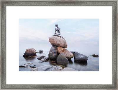 The Little Mermaid - Copenhagen Framed Print by Joana Kruse