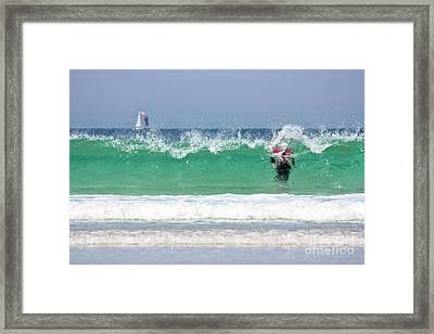Framed Print featuring the photograph The Little Mermaid by Terri Waters