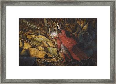 The Little Peoples' Queen Framed Print